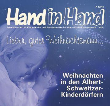 Lieber, guter Weihnachtsmann... - Albert-Schweitzer-Verband