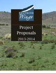 Project Proposals - Association of Fish and Wildlife Agencies