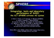 Integration, tests and laboratory performance of SAXO, - AO4ELT 2