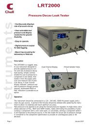 LRT2000 Data Sheet - Chell Instruments Limited