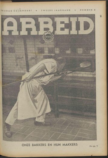 Arbeid (1942) nr. 4 - Vakbeweging in de oorlog