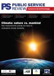 Climate: nature vs.  mankind - IMK-ASF - KIT