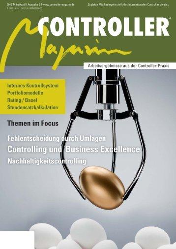 Controlling und Business Excellence - Haufe.de