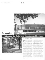 Mies van der Rohe and Houston Architecture - Cite Magazine