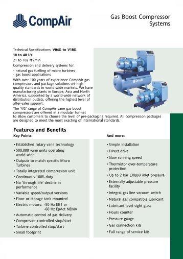 4 Stage Gas Compressor Cryostar