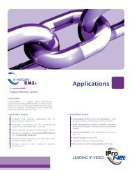 Applications - IProNet Sistemas