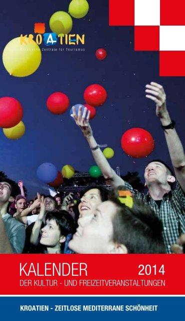 Kalenderder der Kultur - und Freizeitveranstaltungen 2014 - Business