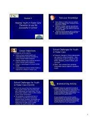 Module 4 - School Mental Health
