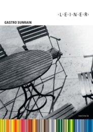 Gastro-SunRain - Leiner GmbH