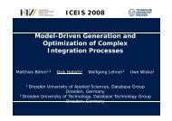 Integration Process Optimization