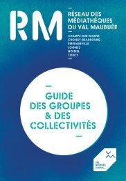 Guides des groupes & des collectivités - Agglomération de Marne-la ...