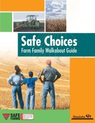 Safe Choices - Manitoba Farm & Rural Support Servic