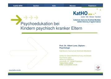 Workshop Prof. Dr. Albert Lenz - PTK Bayern