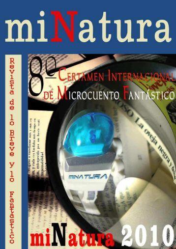 RevistaDigitalmiNatura 105 Certamen miNatura ... - servercronos.net
