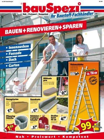 Nah • Preiswert • Kompetent - Leinweber  - Baucentrum