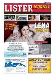 Lister Journal 03/2011 - LeineVision.