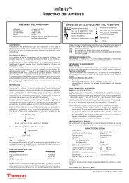 InfinityTM Reactivo de Amilasa - Thermo Scientific