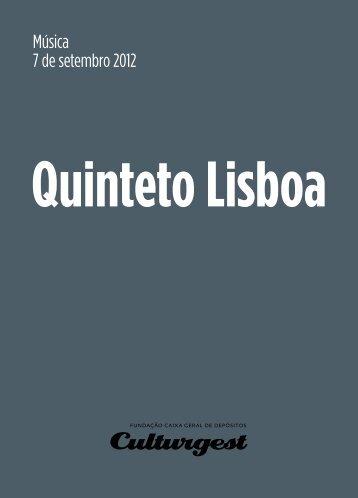Folha de Sala - Culturgest