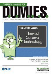 Thermal Camera Technology - Security Sales & Integration Magazine