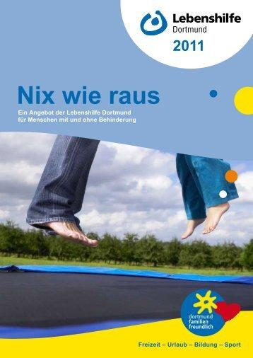 Nix wie raus - Lebenshilfe Dortmund