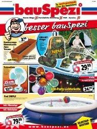 LED-Party-Lichterkette - Leinweber - Baucentrum