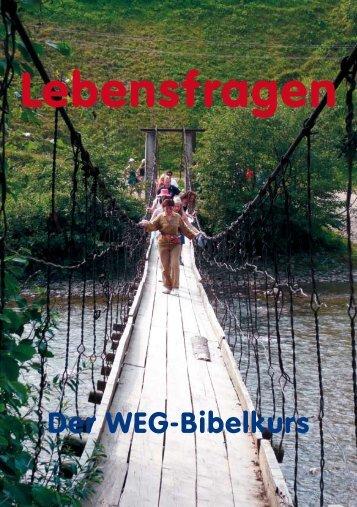 Der WEG-Bibelkurs (niedrige Auflösung 1 MB)