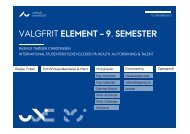 (Microsoft PowerPoint - Opl\346g for 8. semester - Valgfrit element ...