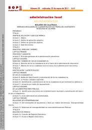 administración local AYUNTAMIENTOS - web antigua ...
