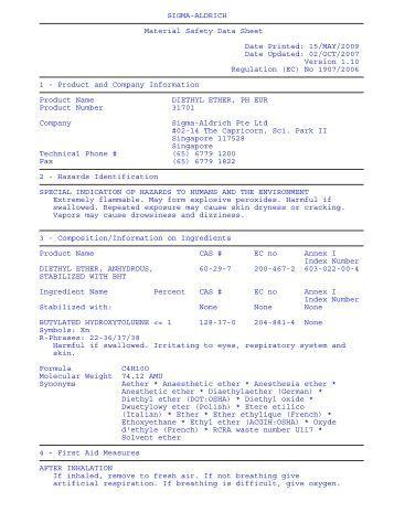 msds ng condensates petroleum crude condensate 030612 wary12 msds ng ...