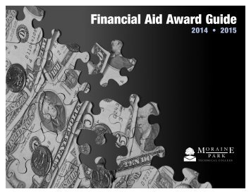 Financial Aid Award Guide - Moraine Park Technical College