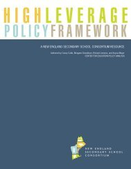High Leverage Policy Framework