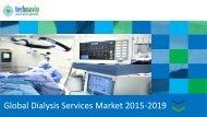 Global Dialysis Services Market 2015-2019