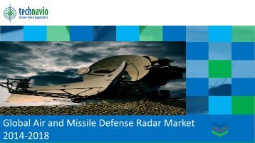 Global Air and Missile Defense Radar Market 2014-2018
