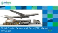 Global Courier Express and Parcel (CEP) Market 2015-2019