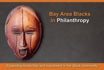 Bay Area Blacks in Philanthropy - Promotions West