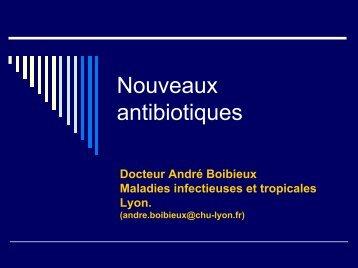 Actualités en Antibiothérapie - ADIPh