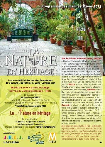 charger le programme 2013 en PDF - JECPJ France