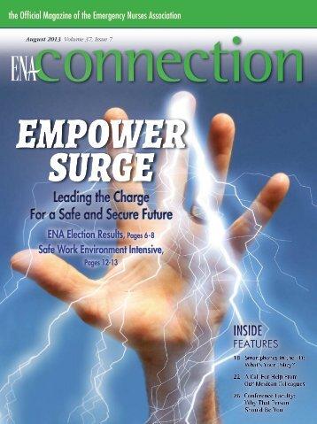 the PDF Version of ENA Connection - Emergency Nurses Association