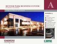 HUNTER PARK BUSINESS CENTER - Oakmont Industrial Group