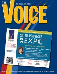 MAY 2012 Vol. XlVII ISSUe V - West Chester Liberty Chamber Alliance