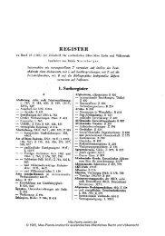 1. Sachregister - Zeitschrift für ausländisches öffentliches Recht und ...