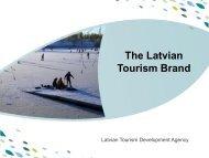 PPT template - Latvian Tourism Development Agency