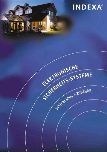 ELEKTRONISCHE SICHERHEITS-SYSTEME - Indexa
