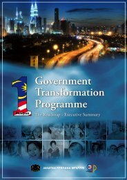 Government Transformation Programme - Prime Minister's Office of ...