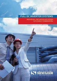 FULL DC INVERTER SYSTEMS