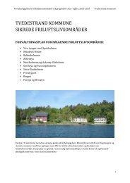 Tvedestrand - Aust-Agder fylkeskommune