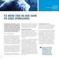 Få MErE End 80.000 svAr på dinE spørgsMål - Danmarks Statistik