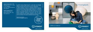 LVB Italia Consumer agg - Indesit