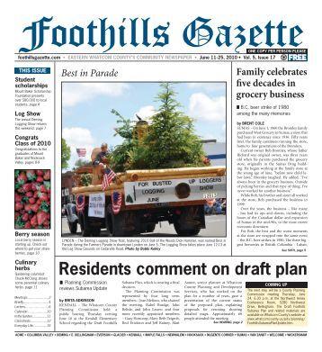 Gazette Vol 5 #17.indd - Foothills Gazette