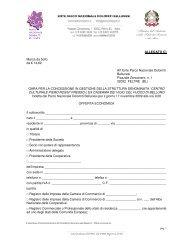 Allegato C) - Offerta economica - Parco Nazionale Dolomiti Bellunesi